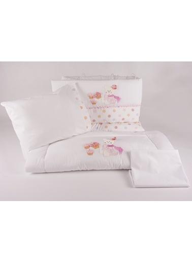 Cupcake Park Yatak Uyku Setı (Kenar Korumalı 6 Parça)-Aybibaby